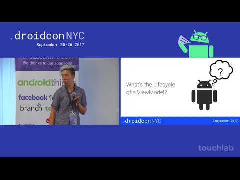 droidcon NYC 2017 - ViewModels, LiveData and Lifecycles, oh my!