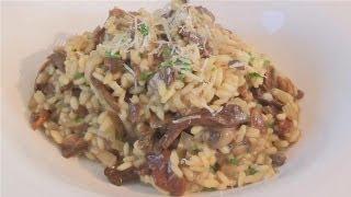 How To: Wild Mushroom Risotto Recipe