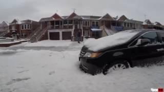 Что делают американцы в снег