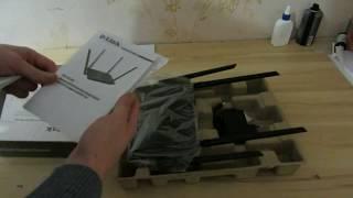 Розпаковка D-Link DIR-825/AC/G1 з Rozetka.com.ua
