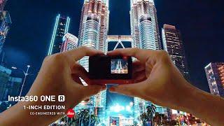 Insta360 ONE R: Kuala Lumpur by Day & Night (5.3K Timelapse)