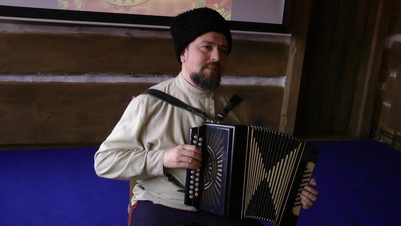 Казачьи песни под гармонь в исполнении Виталия Драчёва. Песни Донских казаков
