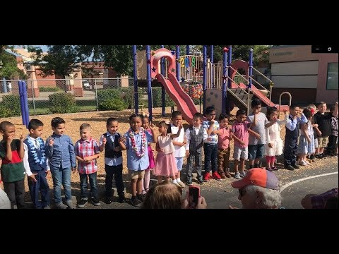 Kindergarten Graduation (Promotion) Day - Mary Tsukamoto Elementary School