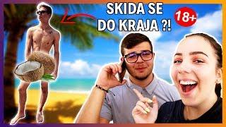MARCO CUCCURIN MORAO POZIRATI GOL U REKLAMI?!? 😜🥥 | Prank call | Doris Stanković