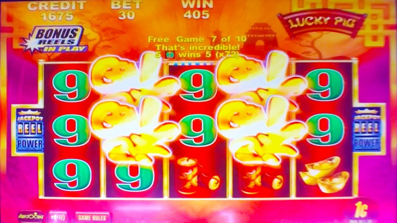 Lucky pig slot machine grosvenor poker bristol