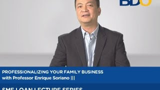 Family Business II: Deciding on a Business Model for your Family Business