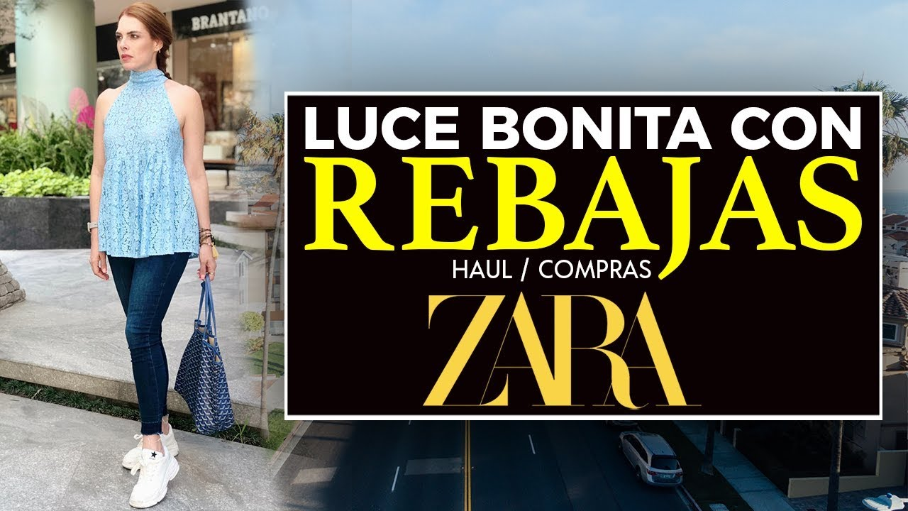 COMO LUCIR BONITA CON REBAJAS DE ZARAHAUL COMPRAS