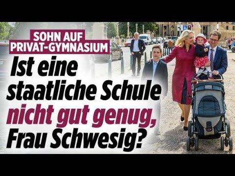 Schwesigs Kind auf Privatschule / Steinbach bei AfD / Oliver Pocher - Aktuelle Nachrichten