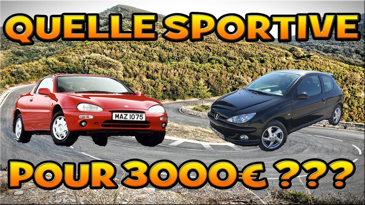 voiture de sport 3000 euros. Black Bedroom Furniture Sets. Home Design Ideas