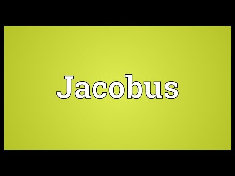 Jacobus Meaning
