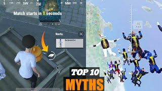 TOP 10 MYTHBUSTER IN PUBG MOBILE LITE || SERVER FREEZE H**K IN PUBG LITE | PUBG LITE MYTHS