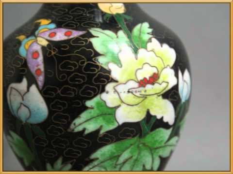 Beautiful  of Chinese Cloisonne Enameled Bronze Fetus Vases