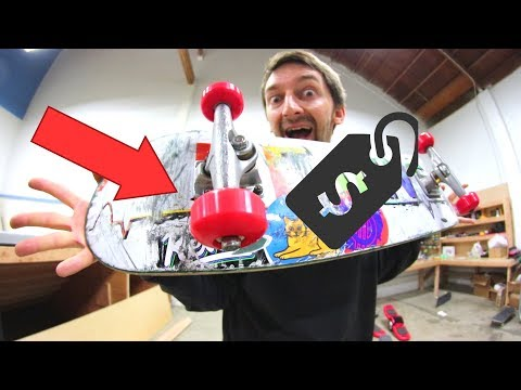THE CHEAPEST SET OF WHEELS AND BEARINGS EVER? | CHEAP SKATES EP 12