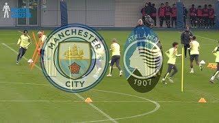 Manchester City Training   Champions League   Atalanta