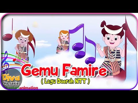 GEMU FAMIRE | Lagu Daerah NTT | Diva Bernyanyi | Diva The Series Official