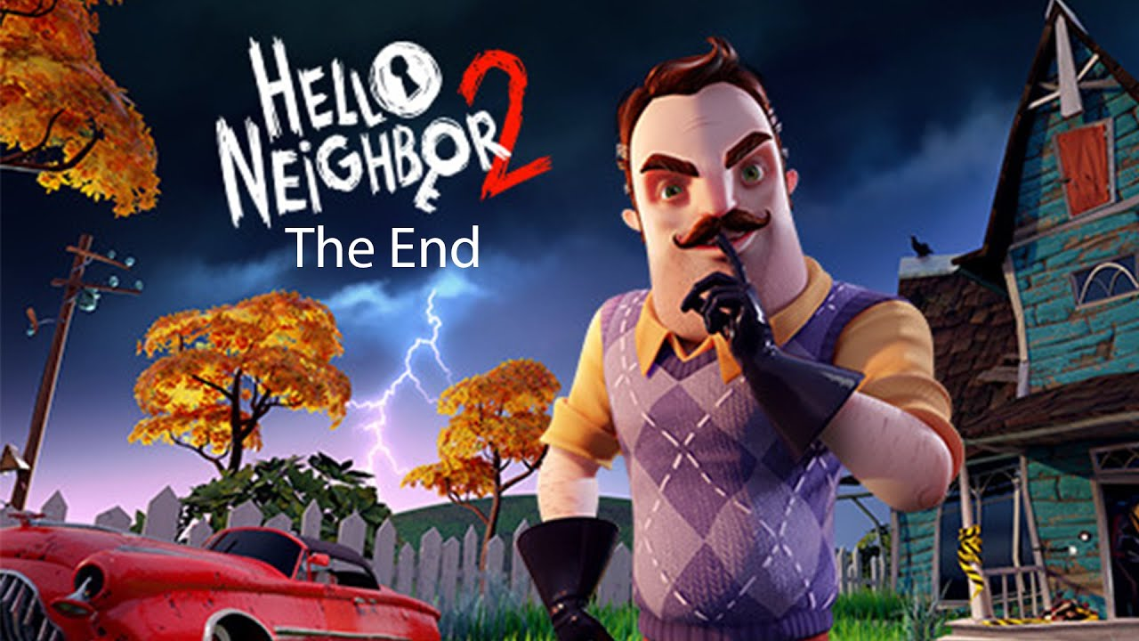 I'M FINALLY BEAT THIS GAME!!! | Hello Neighbor 2 (Part 2)