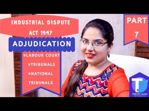 ADJUDICATION #Modes of settlement of industrial dispute# PART 7