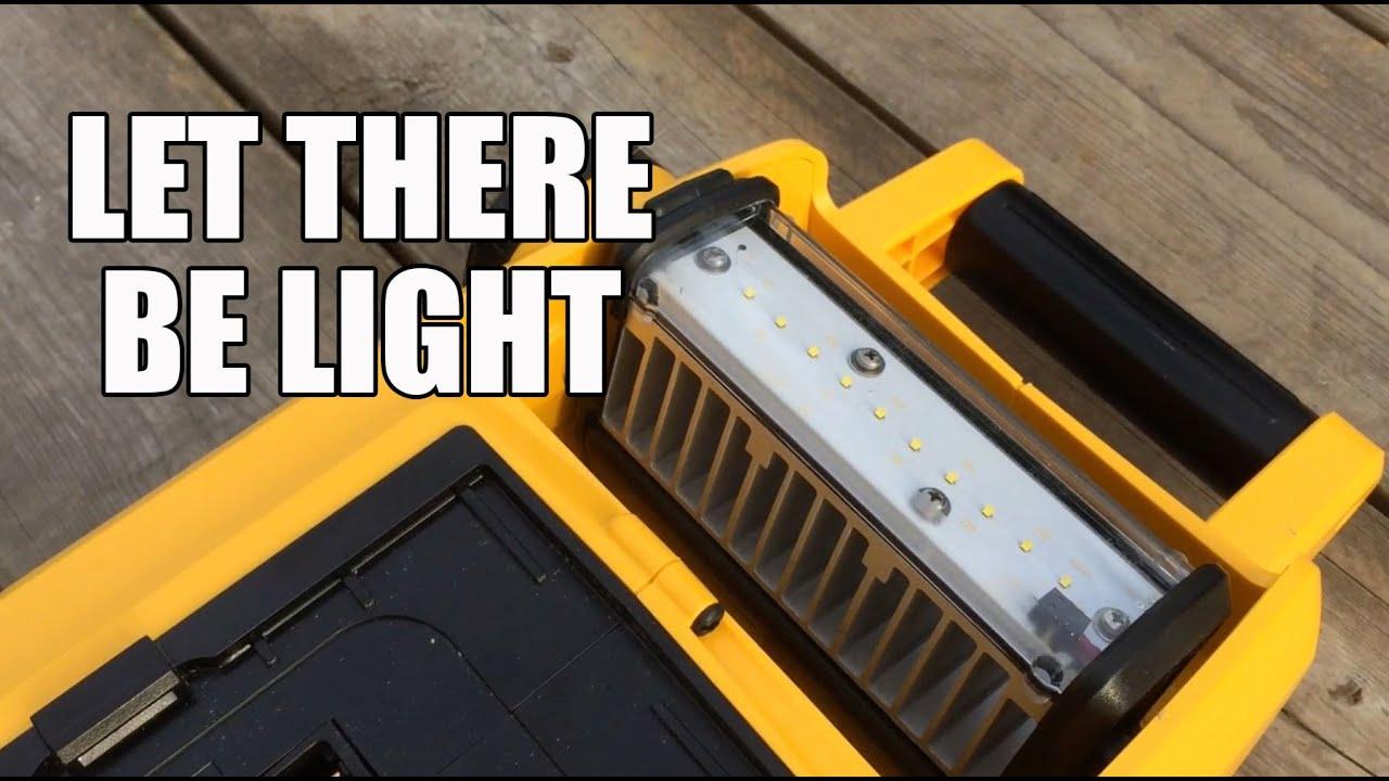Dcl061 18v 20v Max Cordless Corded Led Worklight