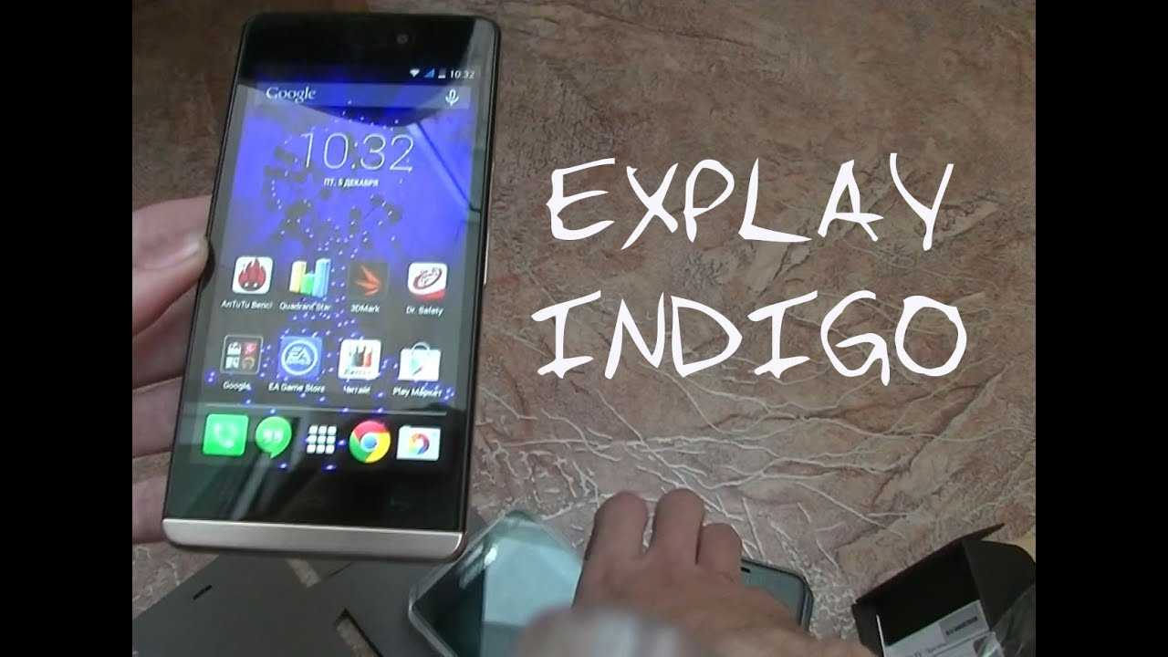 Обзор Explay Indigo - YouTube