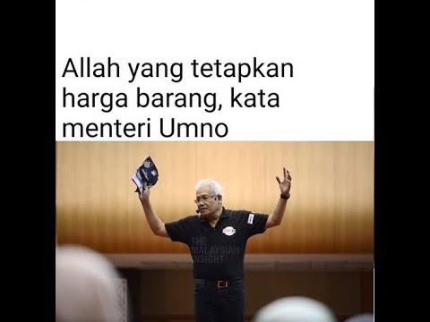 najib sama dengan rasul'allah kata menteri umno pau2017