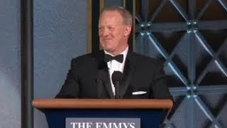 Sean Spicer's 2017 Emmy Awards appearance angers many