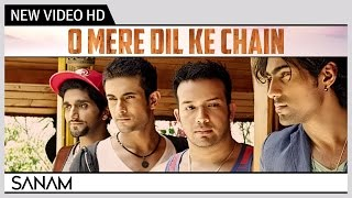 O Mere Dil Ke Chain Sanam  Kishore Kumar  Music Video