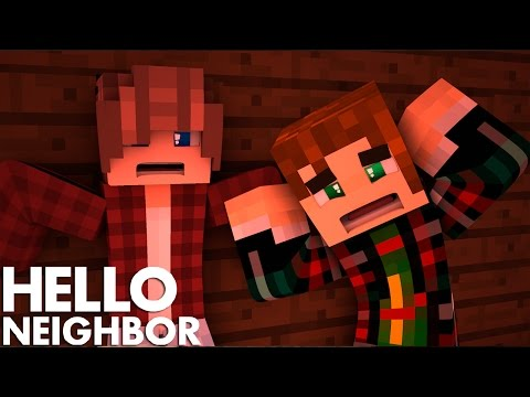 Minecraft Hello Neighbor - What is He Hiding in his Secret Room (Minecraft Roleplay)