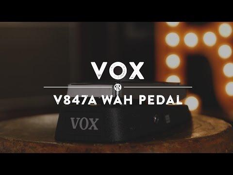 Vox V847A Wah Pedal | Reverb Demo Video