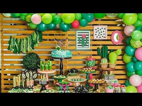 Fiesta de cactus 2018 decoracion adornos fiestas - Ideas decoracion fiestas ...