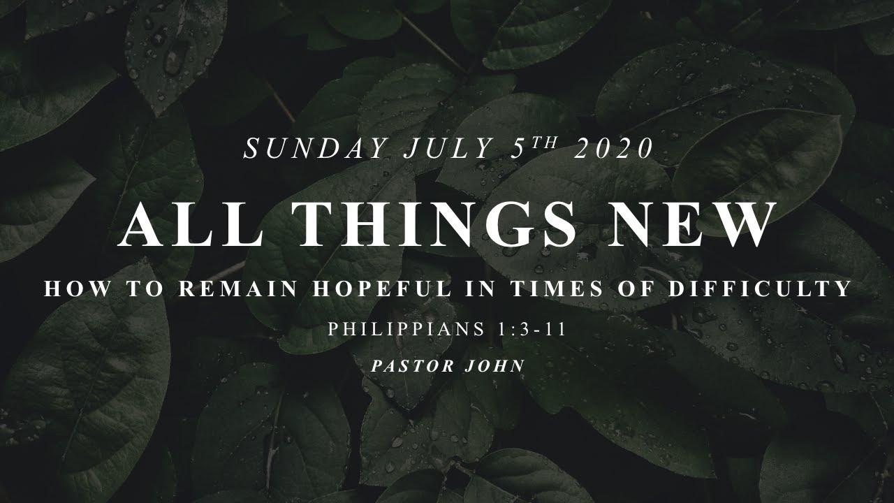 Sunday, July 5, 2020