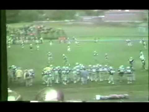 Salem Blue Devils vs The Dover Green Wave Football at Grant Field in Salem NH 1977