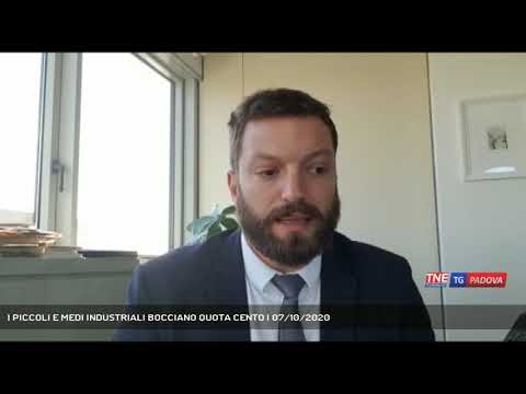 I PICCOLI E MEDI INDUSTRIALI BOCCIANO QUOTA CENTO | 07/10/2020
