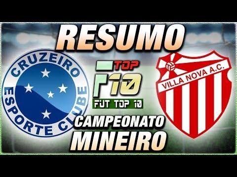Cruzeiro vence o Villa Nova no Mineirão