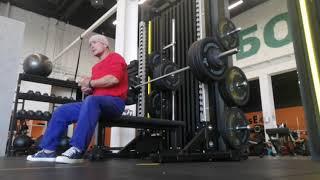 Спорт после 50: Проходка в жиме 97,5 килограмм