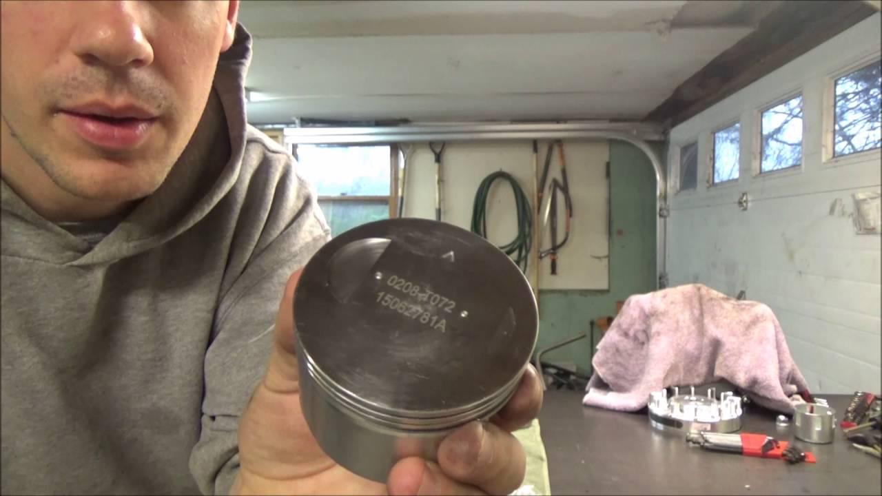 Machining piston valve relief pockets on a Bridgeport Mill (Predator 212  Hemi) by TheJanticJournal