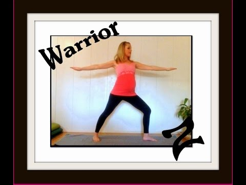 yoga for beginners warrior 2 pose  youtube