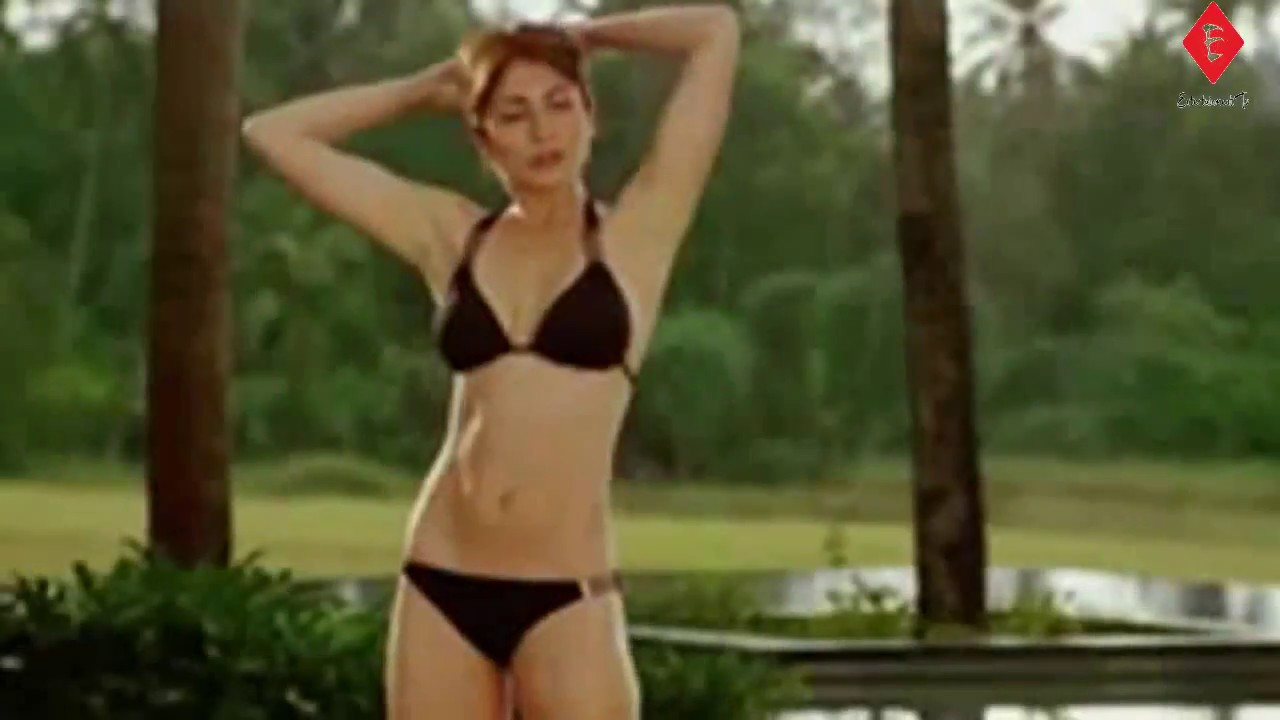 anushka sharma hot black bikini | swimming pool | - youtube