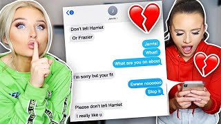 Little Sisters EX Boyfriend FLIRTS With Me Prank *APRIL FOOLS*
