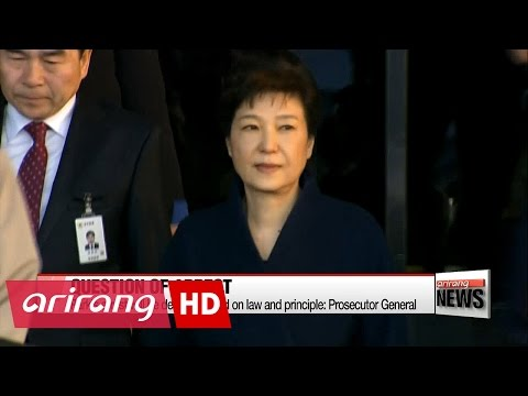 Park Geun-hye's arrest will be decided based on law and principle: Prosecutor General