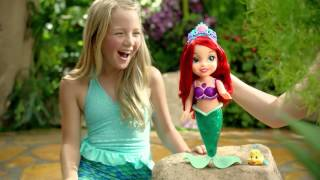 Кукла русалочка Ариэль с сияющим хвостом