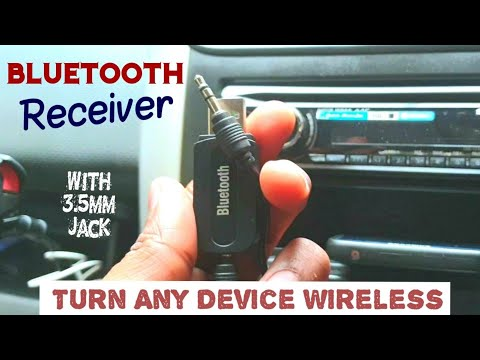 Bluetooth Receiver | 3.5mm Bluetooth Receiver | Turn Music System In To Bluetooth Enabled Device