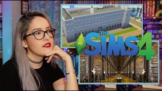 Construyendo la Biblioteca más bella del mundo en Sims4