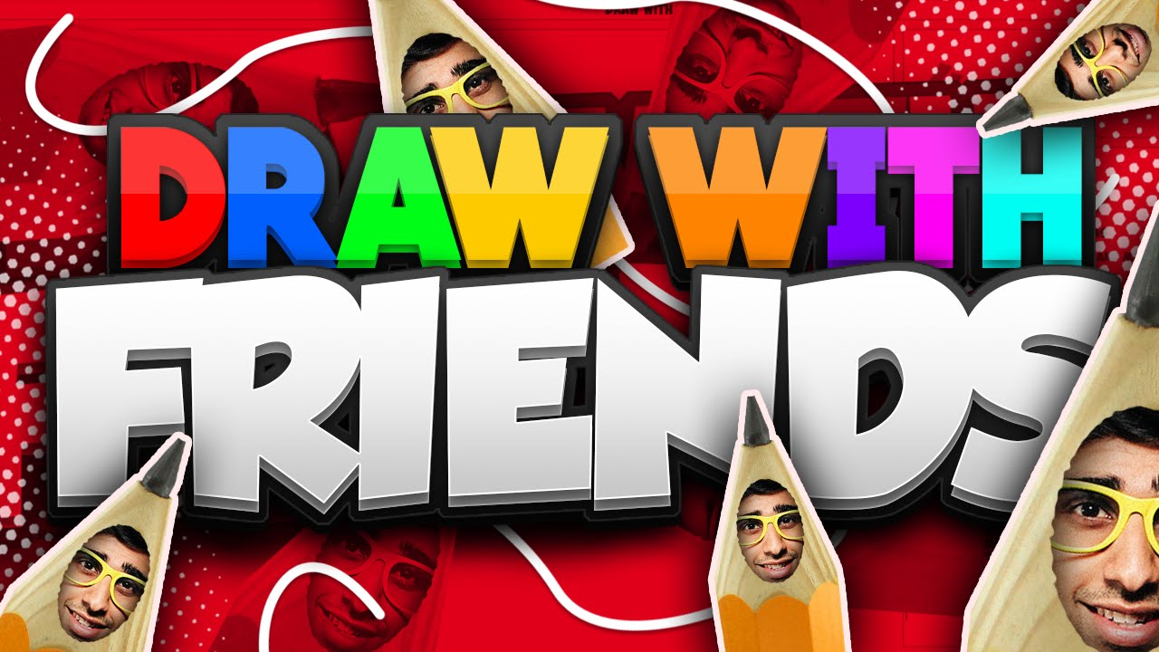 Draw With Friends 1 With Vikkstar Youtube