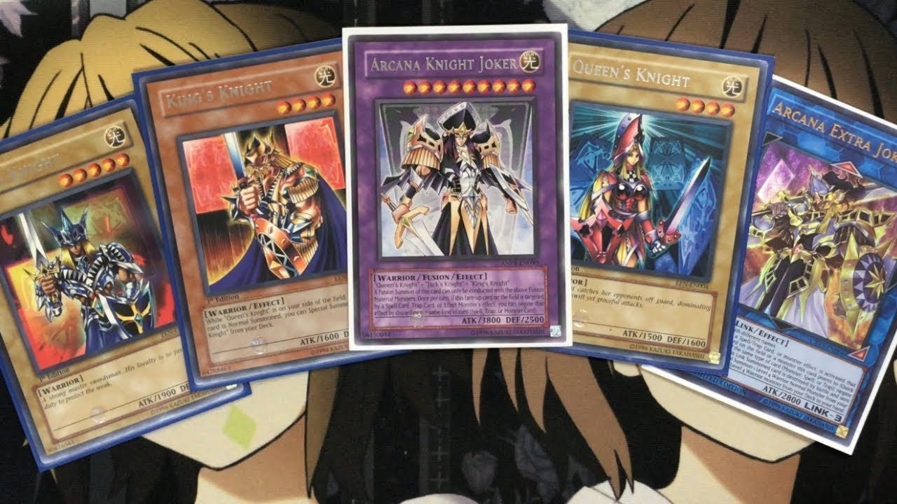 My Arcana Knight Joker Yugioh Deck Profile For September 2018