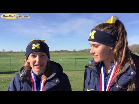 Interview: Gina Sereno & Jamie Morrissey, University of Michigan, 2017 NCAA D1 Great Lakes Regional