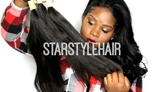 "♡ ALIEXPRESS HAIR! ""Star Style Hair"" First look!"