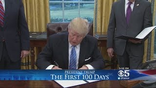President Trump Pulls US Out Of Trans Pacfic Partnership First Day In Office