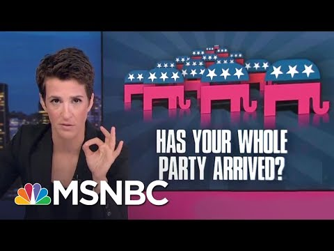 Republican Party's Racism Problem Predates President Donald Trump | Rachel Maddow | MSNBC
