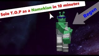 Solo T.O.P as a Namekian in 10 minutes (Amazing) | Dragon Ball Z Final Stand