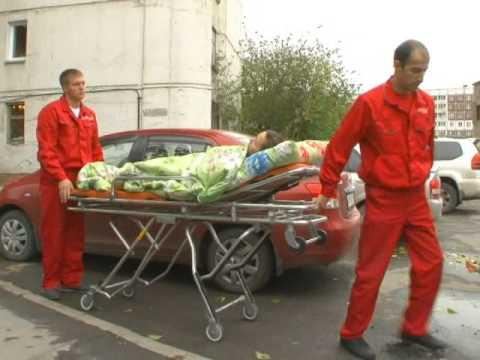 Рубрика Здоровье: транспортировка больных людей на спецтранспорте